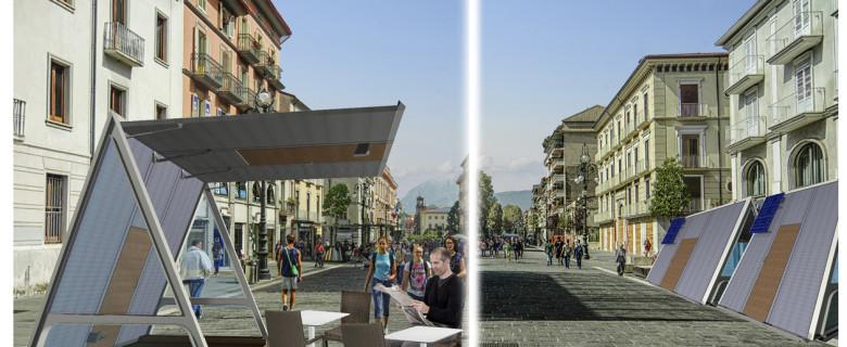 Avellino: un gazebo per la città